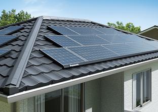 太陽光発電システムの設置